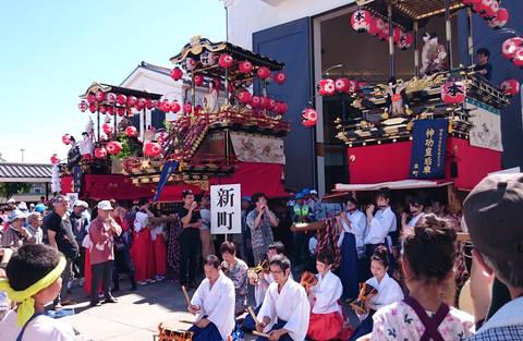 渥美半島菜の花浪漫街道ブログ♪:田原祭り 本町さんの昼山車 ...