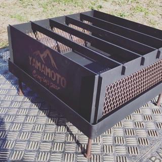 """焚き火台 """"YAMAMOTO Camping gear YouTube"""""""