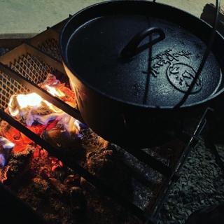 ダッチオーブンで・・・・・♪